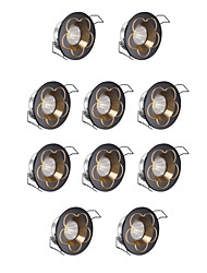 cheap -3W LEDs Dimmable LED Downlights Cold White 220V
