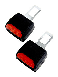 2 x Car Support Safety Alarm Stopper Canceller Seat Belt Clip Buckle Extender