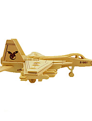 cheap -Jigsaw Puzzle Wood Model Toys Plane / Aircraft 3D DIY Simulation Wooden Wood Not Specified Pieces