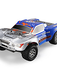 abordables -Coche de radiocontrol  WL Toys A969-B 2.4G Off Road Car Alta Velocidad 4WD Drift Car Buggy Todoterreno 1:18 Brush Eléctrico 70 KM / H