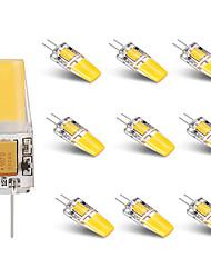 3W G4 LED-lamper med G-sokkel T 1 leds COB Varm hvid Hvid 250lm 3000-3500  6000-6500