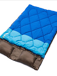 cheap -Sleeping Bag Stuff Sack Double Wide Bag Double -5-10 Hollow Cotton Keep Warm Warm Antistatic Compact Flannel lined Padded 190+30X150