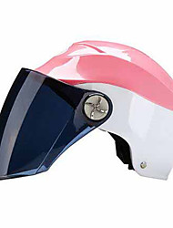 AD 222  Motorcycles Helmet Female Summer Sun Protection Electric Motorcycle Semi-Covered Anti-UV Light Safety Helmet