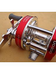 baratos -Fishing Reel Bearing Molinete de Isca 5:1 Relação de Engrenagem+8.0 Rolamentos Orientação da mão Trocável Pesca de Mar Pesca Voadora
