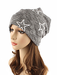 cheap -Women's Headwear Cute Chic & Modern Knitwear Cotton Beanie / Slouchy Floppy Hat - Striped Pure Color
