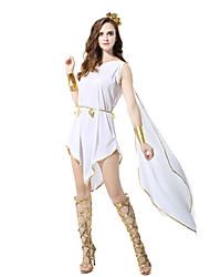abordables -Conte de Fée / Cosyumes Romains / Déesse Costume de Cosplay / Costume de Soirée Femme Halloween / Carnaval Fête / Célébration Déguisement