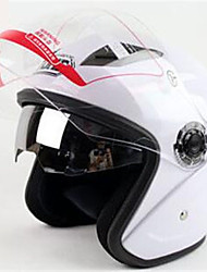 cheap -YOHE YH-856 Double Lens Helmet Helmet Men And Women Electric Car Motorcycle Dual Mirror Helmet