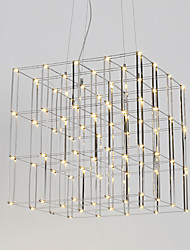 Modern Led Chandelier Light Stainless Steel 90-240V Lamp for Living Room Hotel Loft Lighting