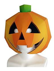 Недорогие -Маски на Хэллоуин Оригами Игрушки Своими руками Квадратный Тыква 3D Плотная бумага Ужасы Классика Куски Универсальные Хэллоуин Подарок