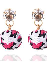 Stud Earrings Drop Earrings  Women's Girls Rhinestones Movie Jewelry Euramerican Fashion Adjustable Ball Drop Earrings  Dailywear Gift Jewelry