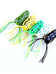 5 Stück Frosch g/Unze mm Zoll,Kunststoff Fischen im Süßwasser Spinnfischen Angeln Allgemein