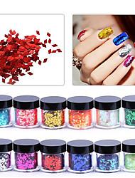 Недорогие -Со стразами Уход Классика Высокое качество Повседневные Дизайн ногтей