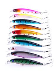 """100 Stück kleiner Fisch g/Unze mm/4-1/3"""" Zoll,Kunststoff Spinnfischen"""