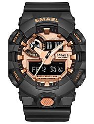 Homens Relógio Esportivo Relógio de Moda Relogio digital Japanês Quartzo Digital Cronógrafo Impermeável Cronômetro Noctilucente
