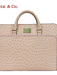 Women Bags All Seasons PU Tote for Casual Office & Career Pale Pink