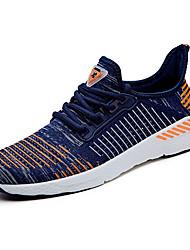 abordables -Femme Chaussures Grille respirante Sergé Printemps Eté Confort Chaussures d'Athlétisme Course à Pied Bout rond Lacet pour Décontracté De