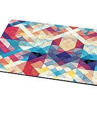 magnifique tapis de souris trompette en caoutchouc lavable bureau tapis de souris 26cm * 21cm * 0.3cm