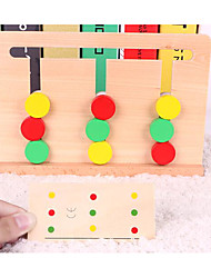 cheap -Educational Flash Cards For Gift  Building Blocks Wooden 1-3 years old 3-6 years old Toys