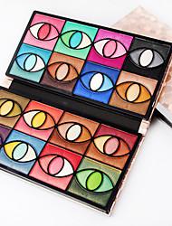 80 Palette di ombretti Secco Gamma di colori dell'ombretto Cipria Trucco giornaliero