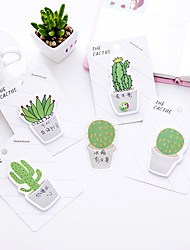 cheap -1 PC Cactus Self-Stick Notes 30 Page