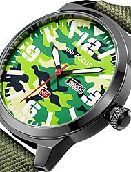 cheap -MINI FOCUS Men's Sport Fashion Watches Wristwatch Luxury Waterproof Calendar Quartz Nylon Band Clock Relogio Masculino Hombre