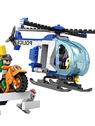 Building Blocks Toys Helicopter Pieces Boys Gift