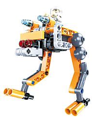 Robot Blocs de Construction Jouet Educatif Jouets Chasseur Robot A Faire Soi-Même Enfant Pièces