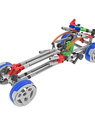 Kit de Bricolage Modèle d'affichage Blocs de Construction Jouet Educatif Jouets Automatique Chariot Pièces Enfant Cadeau