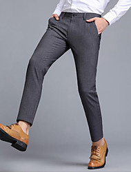 Men's Business Pants Office Long Trousers