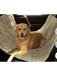 cheap -Dog Car Seat Cover Pet Mats & Pads Waterproof Portable Foldable Black Beige Gray For Pets