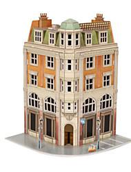 abordables -Puzzles 3D Puzzle Maquette en Papier Bâtiment Célèbre Articles d'ameublement Bois Naturel Unisexe Cadeau