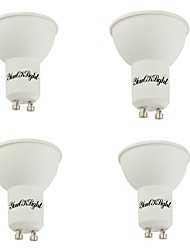 cheap -5W GU10 LED Spotlight 10 leds SMD 5730 Warm White Cold White 400lm 3000/6000K AC 85-265V