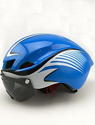Недорогие -Головные уборы Мотоциклетный шлем CE Велоспорт 8 Вентиляционные клапаны One Piece Горные Город Ультралегкий (UL) Спорт Пенополистирол +