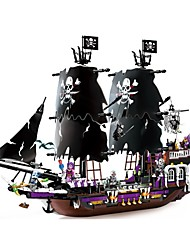 Building Blocks Boat Toys Ship Pirate 1535 Pieces Unisex Birthday Christmas Children's Day Gift