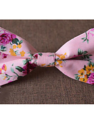 cheap -Men's Cotton Bow Tie Print