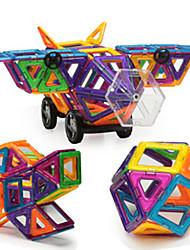 Blocos de Construir Blocos magnéticos Conjuntos de construção magnética Brinquedos Aeronave Urso Peças Crianças Dom