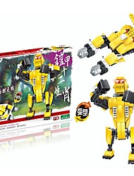 cheap -Robot / Building Blocks Fighter Aircraft / Machine / Robot Transformable / Classic Boys' Gift