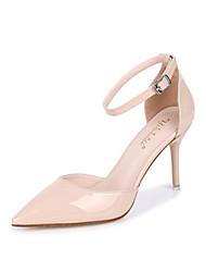 Da donna Scarpe Lustrini PU (Poliuretano) Primavera Estate Autunno Club Shoes Tacchi A stiletto Appuntite Con Fiocco Brillantini Fibbia