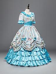 Une Pièce Robes Gothique Doux Lolita Classique/Traditionnelle Punk Inspiration Vintage Elégant Victorien Rococo Princesse Cosplay