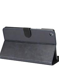 Sólida loca ma patrón caja de cuero genuino con soporte para huawei mediapad m3 lite 8,0 8,4 pulgadas tableta pc