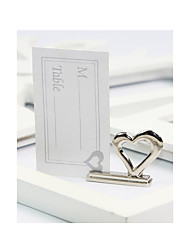abordables -decoración de la boda love place card holder - 8pcs / set - 3.8 * 0.9 * 3 cm / pcs - sin tarjetas - beter gifts® life style