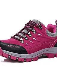 Недорогие -Жен. Обувь Дерматин Весна / Осень Удобная обувь Спортивная обувь Для пешеходного туризма На плоской подошве Круглый носок Аппликации