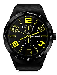 abordables -yy k98h femme homme 3g smartwatch 4gb rom ip54 imperméable gps montre intelligente