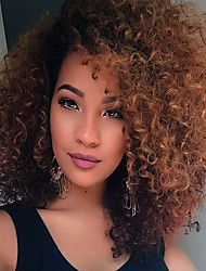 cheap -Synthetic Wig Curly African American Wig Capless Natural Wigs Medium Synthetic Hair