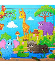 economico -Puzzle Modellini di legno Gioco educativo Giocattoli Elefante A pelle di coccodrillo altro Frutta Legno Unisex Pezzi