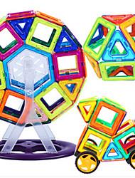 Blocos de Construir Blocos magnéticos Conjuntos de construção magnética Carros de brinquedo Brinquedos Outra Peças Crianças Rapazes Dom