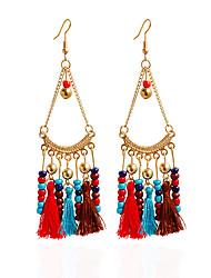 cheap -Women's Bohemian Others Drop Earrings / Hoop Earrings - Bohemian Red / Blue / Rainbow Earrings For Party / Daily / Casual