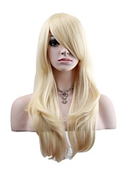 cheap -Synthetic Wig Natural Wave Women's Capless Natural Wigs Long Synthetic Hair