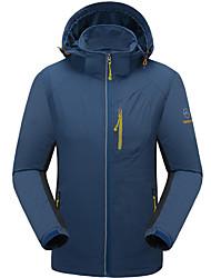 Herrn Wanderjacke warm halten Atmungsaktiv Wasserdicht Jacke Oberteile für Rennen Camping & Wandern Klettern Winter Herbst XL XXL XXXL