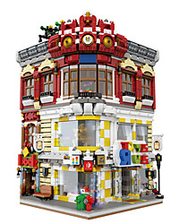 cheap -XingBao 01006 Block 5491Pcs Genuine Creative MOC City Series The Toys and Bookstore Set Building Blocks Bricks Toy Model Gift